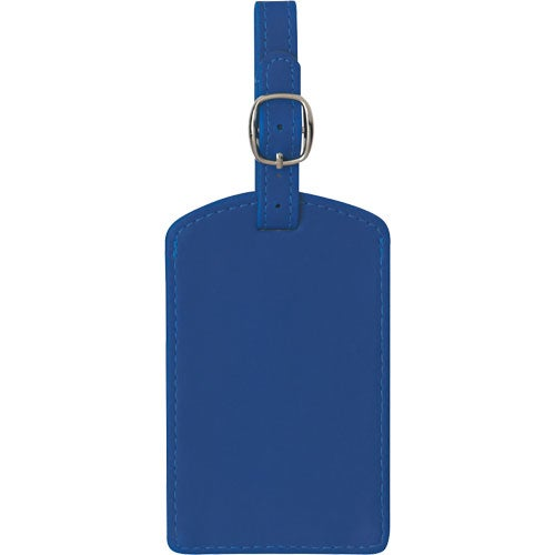 Royal Blue. Soft Touch Luggage Tag