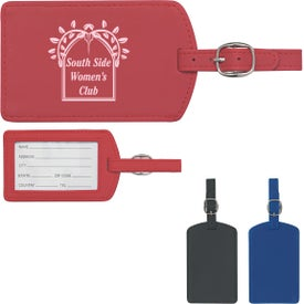 Soft Touch Luggage Tag for Your Organization