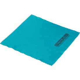 Logo Soft Touch Microfiber Cleaning Cloth