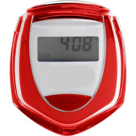 Solar Pedometer Imprinted with Your Logo