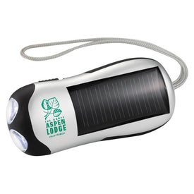 Solar Power Flashlight