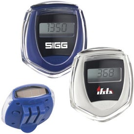 Solar-Powered Pedometer for Your Church