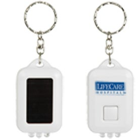 Solar Powered LED Keytag for Promotion