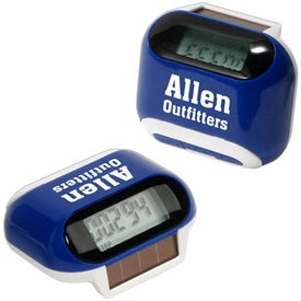 Solar Powered Pedometer for Your Church