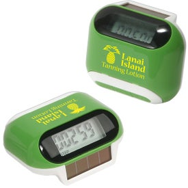 Solar Powered Pedometer for Promotion