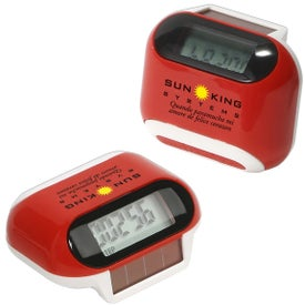 Customized Solar Powered Pedometer
