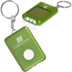 Solar Safety Key Light Imprinted with Your Logo