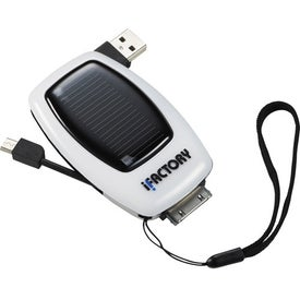 Solar Smartphone Charger Imprinted with Your Logo