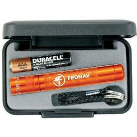 Customized Mini Mag-Lite Solitaire Flashlight