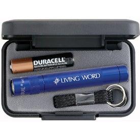 Branded Mini Mag-Lite Solitaire Flashlight
