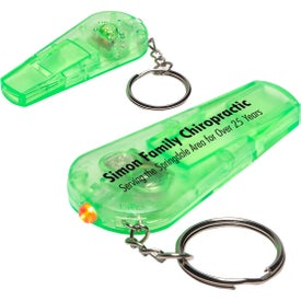 Sound N' Sight LED Key Chain for Marketing