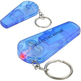 Sound N' Sight LED Key Chain for Marketing