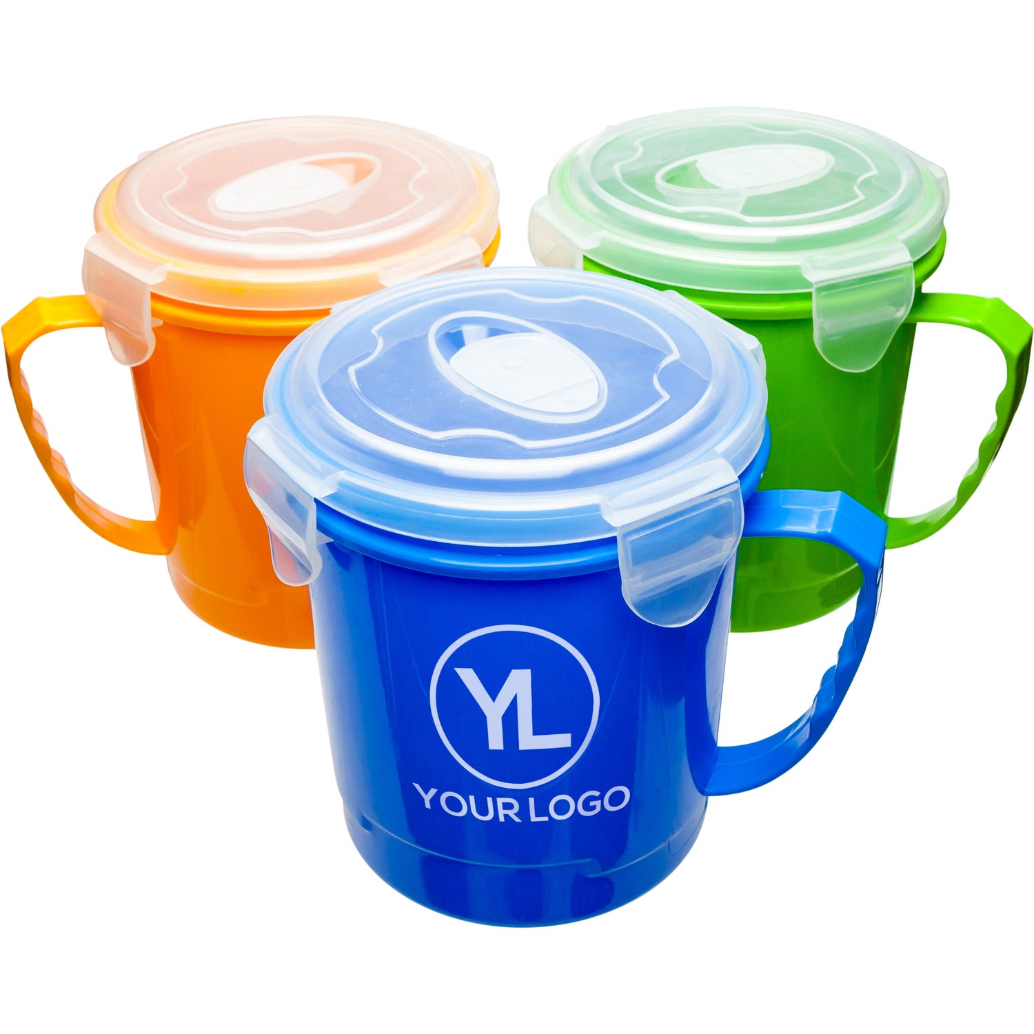 Promotional Soup Mugs with Custom Logo for $1.34 Ea.