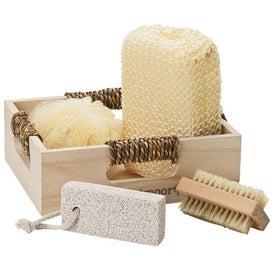Branded Spa Set in Box