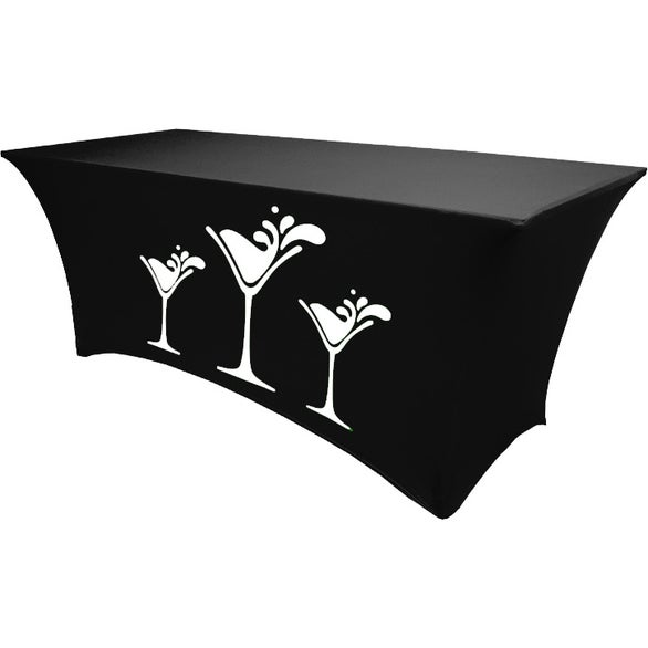 Spandex Fitted Table Cover (4')