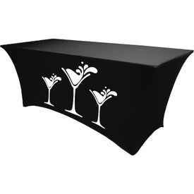 Table Cover (4 Ft. Table, Stretch Fit, 4-Sided)