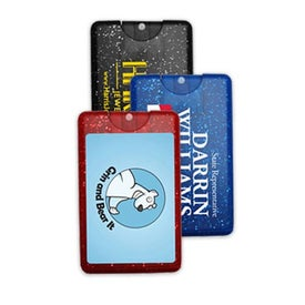 Sparkle Bling Credit Card Hand Sanitizer Spray