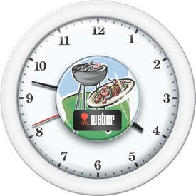 Wall Clock Branded with Your Logo