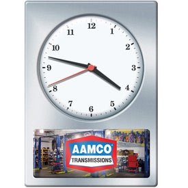 Analog Wall Clock Printed with Your Logo