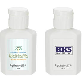 SPF 30 Sunscreen for Promotion