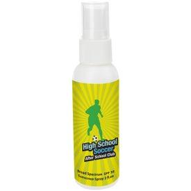 SPF 30 Sunscreen Spray Bottle for Promotion