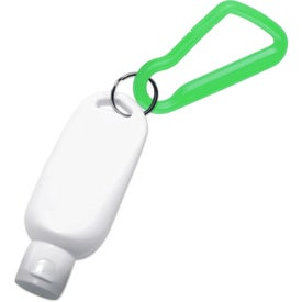 Sunblock with Carabiner for Your Organization