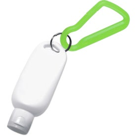 Promotional Sunblock with Carabiner