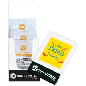 SPF-30 Sunblock Pocket Pack