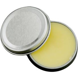 Promotional SPF 15 Lip Balm in Metal Tin
