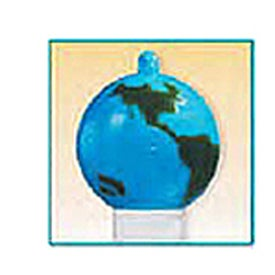 Advertising SPF 30 Lip Balm House Design Key Ring Cap