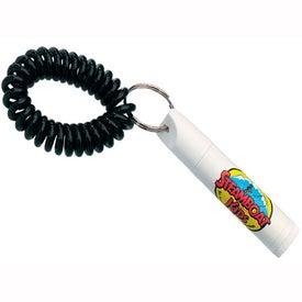 SPF 30 Lip Balm Wrist Coil Cap