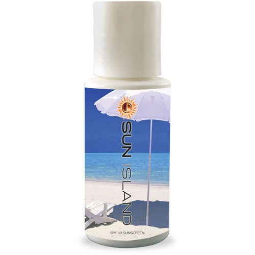 White SPF 30 Sunscreen Lotion