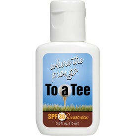 SPF30 Sunscreen Lotion (0.5 Oz.)