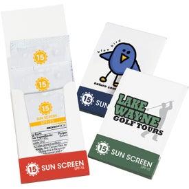 SPF-15 Sunblock Pocket Pack