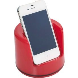 Spinning Coin Bank/Phone Holder Branded with Your Logo
