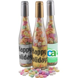 Spirit Champagne Bottle (Large, Conversation Hearts)