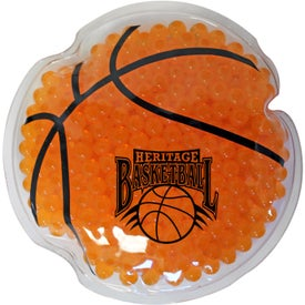 Basketball Gel Bead Hot Cold Pack (Ink Imprint)