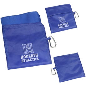 Sport Microfiber Towel in Pouch Printed with Your Logo