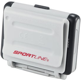 Custom Sportline Big Screen Step and Distance Pedometer
