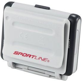 Custom Sportline Big Screen Step and Distance Pedometer
