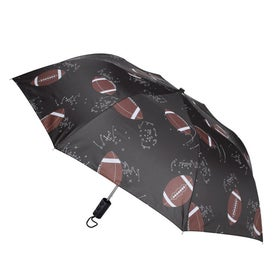 Sports League Auto Open Umbrella Printed with Your Logo