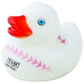 Logo Sports Rubber Duck