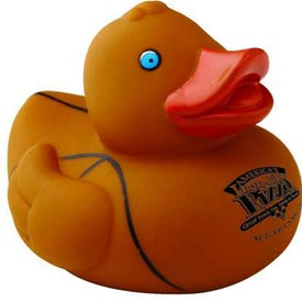 "Customizable Sports Rubber Duck (2"", Basketball)"