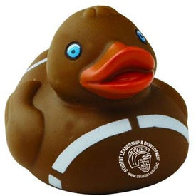 "Sports Rubber Duck (3"", Football)"