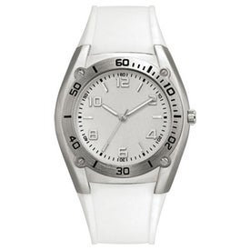 Sports Styles Rubber Strap Unisex Watch with Your Logo