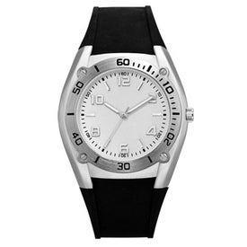 Sports Styles Rubber Strap Unisex Watch for Your Church