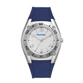 Company Sports Styles Rubber Strap Unisex Watch