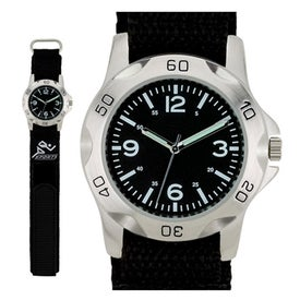 Sports Styles Nylon Strap Unisex Watch Branded with Your Logo
