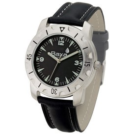 Brushed Silver Sports Styles Unisex Watch
