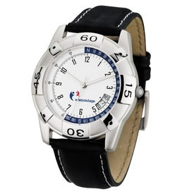 Sports Styles Unisex Watch with Date Display